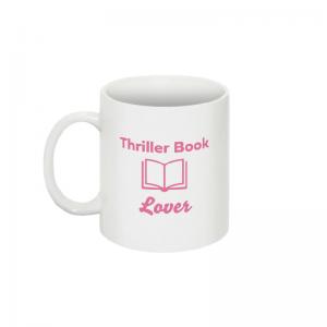 Thriller Book Lover Mug