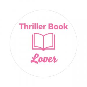 Thriller Book Lover Sticker
