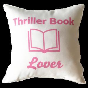 Thriller Book Lover Pillow