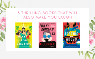 Thrilling Books that will also make you laugh
